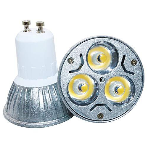 GU10 Neue Produkte ,(3 W,4 W,6W), GU10 LED-Strahler, AC 220V, Warmweiß (3000 Kelvin), Spart bis zu 80-90{4a30d2423a232a80497938c1a6422e1285fd7468aced0ffc6bf2601ff8813e1e} Energie .Energiesparlampen,umweltfreundlich (1 Stück, 3 Watt)