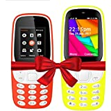 I KALL K3310 (Red) And K35(Yellow) Combo Of Dual Sim Mobile With 101 Days Replacement Warranty With 1 Year Manufacturer Warranty