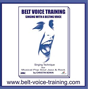 Belt Voice Training - Singing lesson 1 - warm up: supported piano