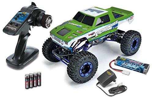 Carson 500404068 - 1:10 X-Crawlee 4WD 100{7d3364fa8861c217c9f093876543ee6bd7044fcc0af3bddb7ab89e2724ae98f5} RTR 2,4 GHz, grün