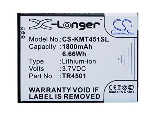 CS 1200mAh Li-ION Batterie Compatible avec Archos/KAZAM AC50TI4G, TR4501,TR4501-CHHCD0006517, remplace Archos/KAZAM 50 Titanium 4G,A50 Titanium 4G