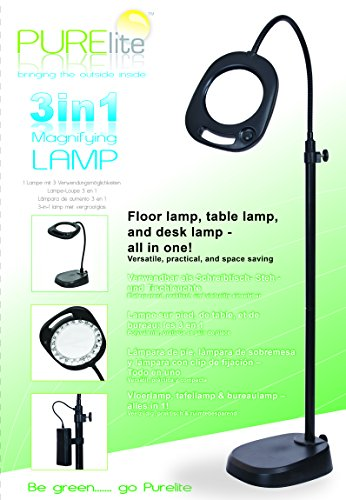 purelite-3-in-1-magnifying-lamp-in-black-battery-mains-magnifying-lamp-uses-21-led-lights