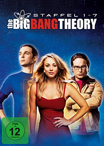 The Big Bang Theory - Staffel 1 bis 7 (exklusiv bei Amazon.de) [Limited Edition] [22 - Big-bang-dvd-staffel 1