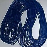 1m Lederband 2mm Mittelblau
