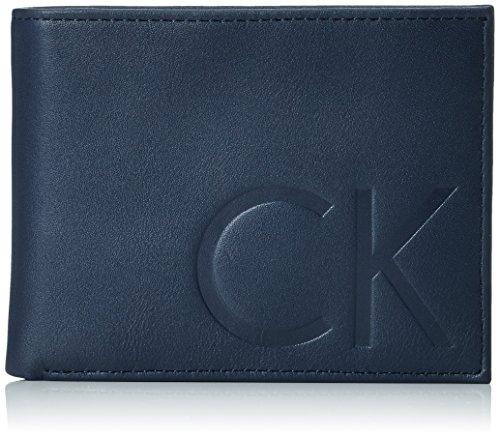 Calvin Klein Jeans F1NN BILLFOLD 8CCK50K501991 Herren Geldbörsen 10x13x3 cm (B x H x T) Blau (NAVY 000)