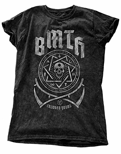 Bring Me The Horizon T Shirt Crooked Young Oficial De las mujeres Skinny Fit