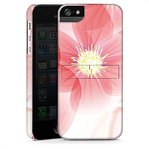 Apple iPhone X Silikon Hülle Case Schutzhülle Blume Blüte Blatt Premium Case StandUp