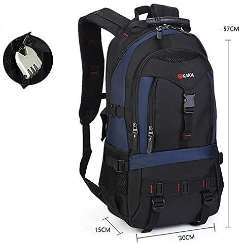 YAAGLE Laptop-Rucksack Herren 17 Zoll Reiserucksack Trekkingrucksacke Wanderrucksack Schultasche