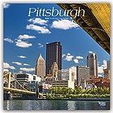 Pittsburgh 2020 - 18-Monatskalender mit freier TravelDays-App: Original BrownTrout-Kalender
