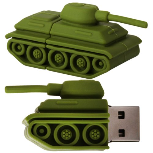 cnl-8gb-green-army-tank-novelty-usb-20-data-flash-drive-memory-stick-pen-device