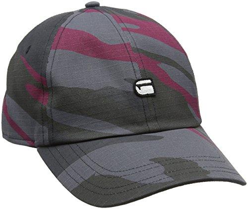 g star camouflage G-STAR RAW Herren Baseball Cap Avernus Ao, Mehrfarbig (Industrial Taupe/Rhino 9298), 27 (Herstellergröße: PC)