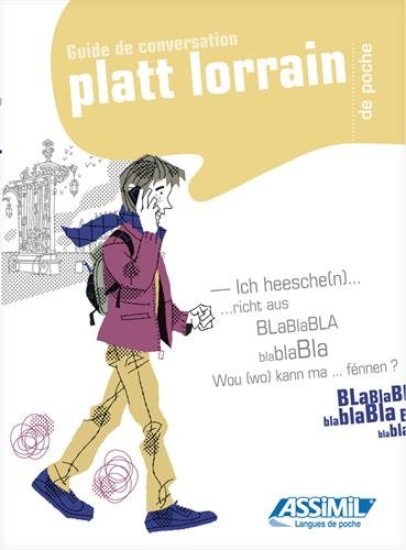 Le Platt Lorrain de poche par Jean-Louis Kieffer