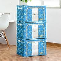 Aggiornamento Storage Box Oxford Cloth Storage Box Abbigliamento trapunta finitura box di grandi dimensioni 66 litri 3 Equipaggiata Storage Box ( colore : 6 )