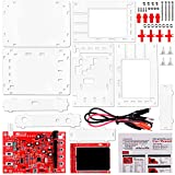 Quimat DSO138 Digital Oscilloscope Kit + Case / Open Source 2.4 inch TFT 1Msps with Probe Assembled Vision