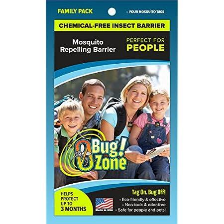 0Bug!Zone Mückenschutzmarken, Family Pack
