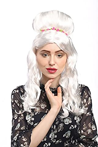 WIG ME UP ® - 31797-P68 Lady Party Wig Halloween