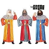 Atosa-32135 Atosa-32135-Disfraz Rey Mago Hombre Adulto-Talla Color Surtido-Navidad,, M-L (32135)