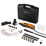Tacklife RTD35ACL Advanced multifunction tool na may 80 accessories at 3 attachment sa sikat na all-rounder para sa handyman at DIY, kasama. Schutzhaub