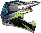 BELL Helm MOTO-9 FLEX PC REPLICA BLACK/GREEN M