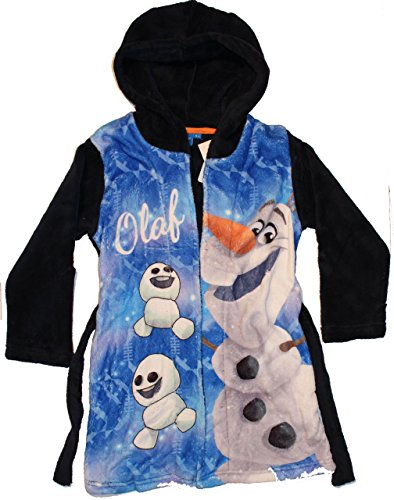Disney Frozen Olaf, Vestaglia Bambina, Blu (Navy), 5 Anni