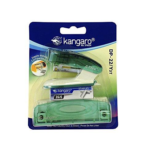 Kangaro DP 22/Y3T - Pack de 3 grapadoras
