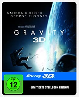 Gravity Steelbook (2D/3D) (exklusiv bei Amazon.de) [3D Blu-ray] [Limited Edition]