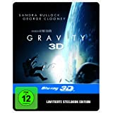 Gravity Steelbook (2D/3D) (exklusiv bei Amazon.de) [3D Blu-ray]