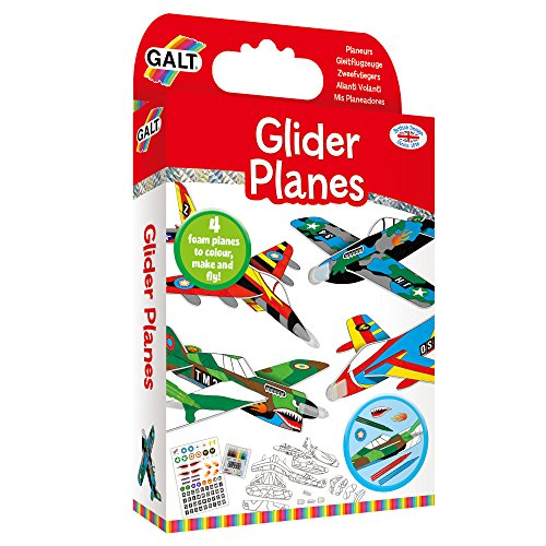 Galt Toys–Aviones planeadores de Juguete (Multicolor)