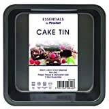 Everyday Baking Cake Tin, tinplate, Black, 22.5 x 22.5 x 5cm
