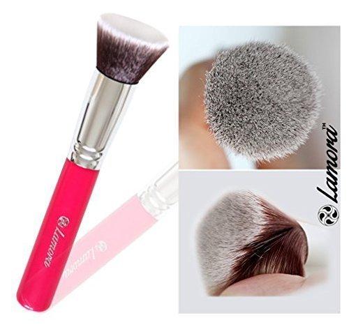 Pennelli Make Up Kabuki Fondotinta (Colore Rosa)