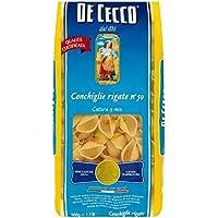 De Cecco Rigate Conchiglie (500g) (Paquete de 2)