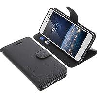 Tasche für TP-Link Neffos X1 Lite Book Style schwarz Schutz Hülle Buch