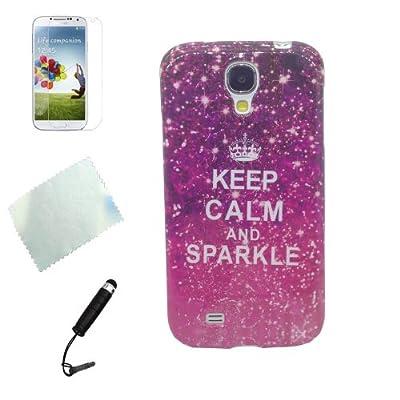 Schutzhlle Fr Samsung Galaxy S4 Hlle Tpu Rckschale Schutz Hlle Case Mit Lila Himmel von d'Amélie