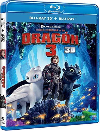 Cómo Entrenar A Tu Dragón 3 (BD 3D + BD) [Blu-ray]
