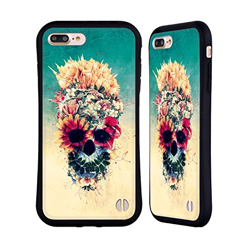 Ufficiale Riza Peker Spaventapasseri Teschi 6 Case Ibrida per Apple iPhone 7 / iPhone 8 Estate