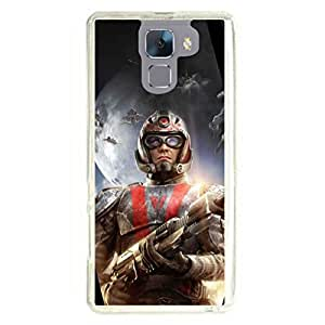 a AND b Designer Printed Mobile Back Cover / Back Case For Huawei Honor 7 (HON_7_1225)