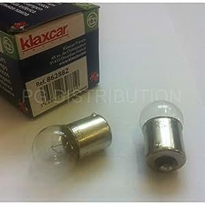 Klaxcar France 86288z Ampoule, éclairage des instruments