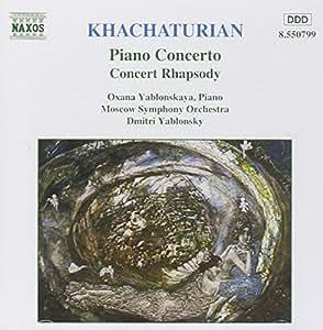 Khatchaturian Klavier und Orchester Konz