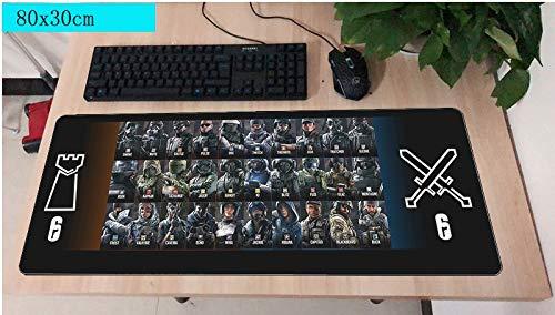 Pad Maus computador Gamer Maus Pad 800x300X2MM Padmouse große Halloween Geschenk Mousepad Gadget Büro Schreibtisch Matten
