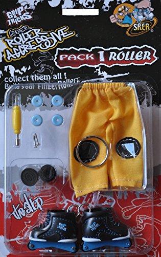Skate-roller Aggressive (Finger Skate - Roller Aggressive Pack1 - Grip & Tricks - Dimensions: 22 X 13,5 X 2 Cm)