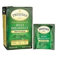 Twinings Irish Breakfast 100% Pure Black Tea - Decaffeinated 20 Bag(S)