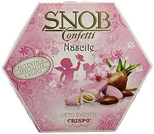 Crispo Confetti Snob Lieto Evento - Colore Rosa - 500g