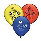 Verbetena, 014001346, pack 8 globos Disney Mickey Mouse y los superpilotos.