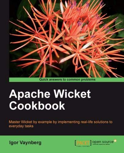 Apache Wicket Cookbook (English Edition)