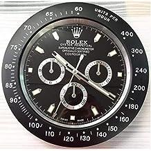 Reloj de Pared Rolex Replica Daytona Negro