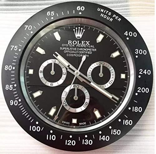 Orologio da Parete Rolex Replica Daytona Nero