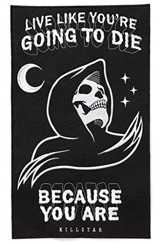 Kill Star gotico toppa toppa personificata-Certain Death Back patch