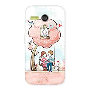 Special Swing Love Multicolor Back Case Cover for Moto G