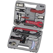 Maletin Set Kit de Herramientas completo para Reparacion y Mantenimiento de Bicicleta Bike Hand 3571