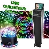 Madison Tour de Son multimédia Hi-FI Home Sound 130W - CD/Bluetooth/USB/SD/FM CENTER130CD-BK + Jeu Sunmagic